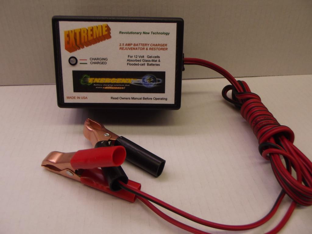 2 5 Amp 12 Volt Lead Acid Battery Charger Rejuvenator 120
