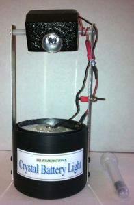 Bedini Crystal Battery Light