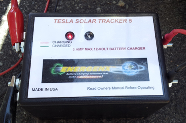 Tesla Chargers S3A12 Solar Charge Controller