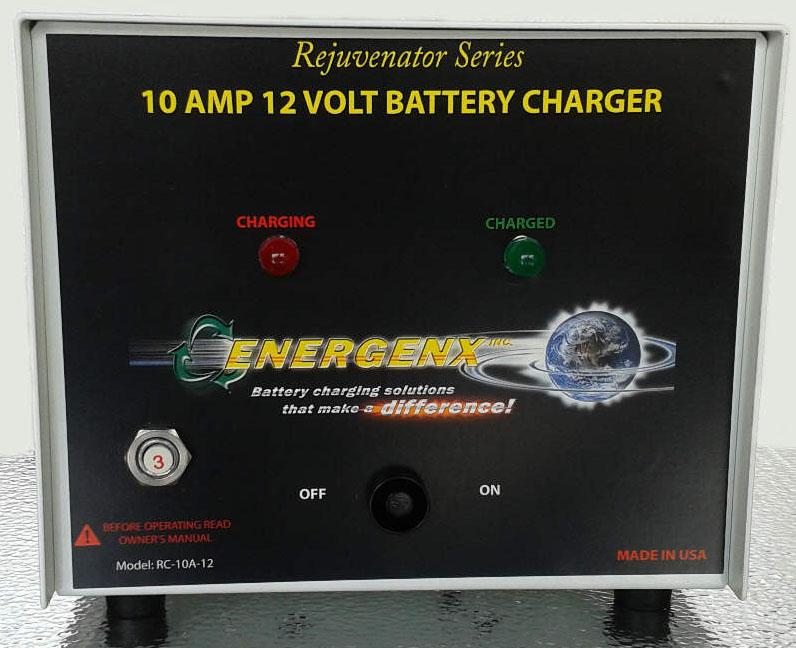 Tesla Chargers 10A12 Battery Charger Rejuvenator