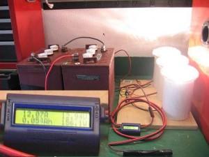 Trojan Battery Test