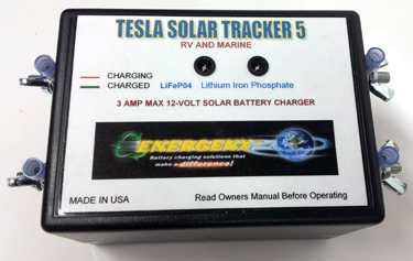 Tesla Chargers S3A12 LiFePO4 Solar Charge Controller